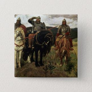 Warrior Knights, 1881-98 Pinback Button