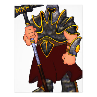 Warrior Letterhead