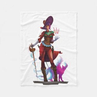Warrior Mage Fleece Blanket