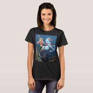 Warrior Merman Fantasy Art Illustration shirt