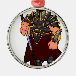 Warrior Metal Ornament