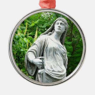 Warrior Metal Ornament