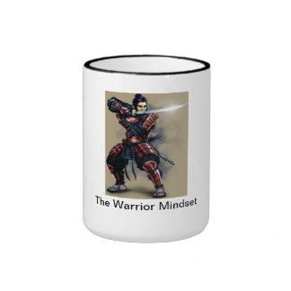 Warrior Mindset Ringer Coffee Mug