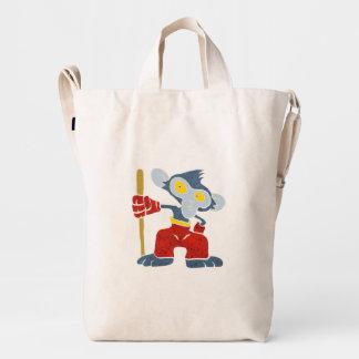 Warrior Monkey . Duck Bag