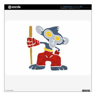 "Warrior Monkey . Skins For 11"" MacBook Air"