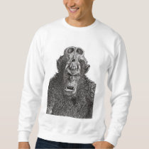 Warrior Monkey Sweatshirt