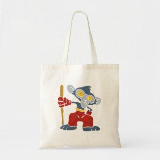 Warrior Monkey . Tote Bag
