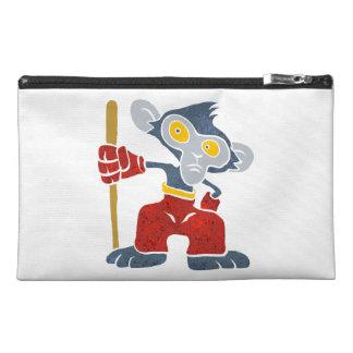 Warrior Monkey . Travel Accessory Bag