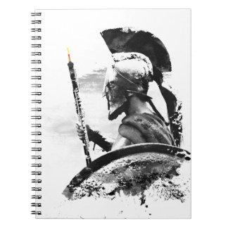 Warrior Oboe Player Spiral Notebook