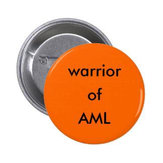warrior of AML button