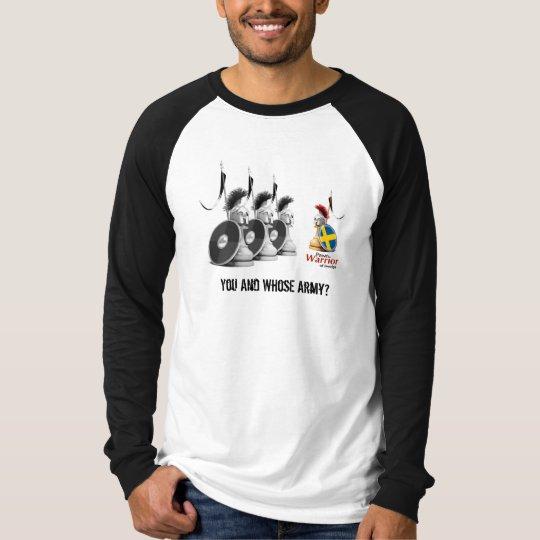 Warrior of Sverige - Long Sleeve Raglan T-Shirt