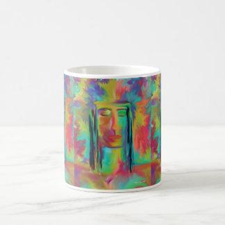 Warrior Of The Rainbow Classic White Coffee Mug