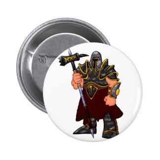 Warrior Pinback Button