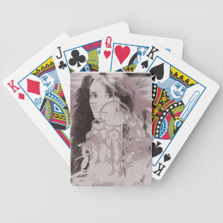 warrior playing cards