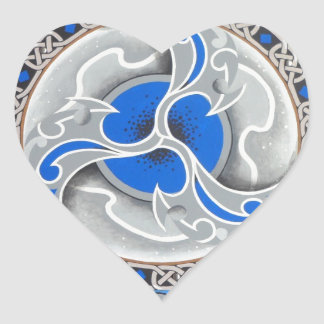 Warrior Poet.jpg Heart Sticker