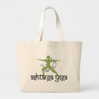 Warrior Pose Ashtanga Yoga Gift Jumbo Tote Bag