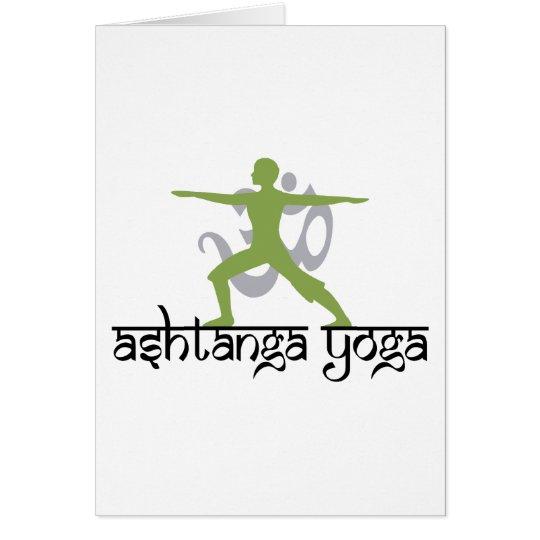 Warrior Pose Ashtanga Yoga Gift Card