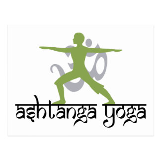 Warrior Pose Ashtanga Yoga Gift Post Cards