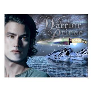 Warrior Prince postcard