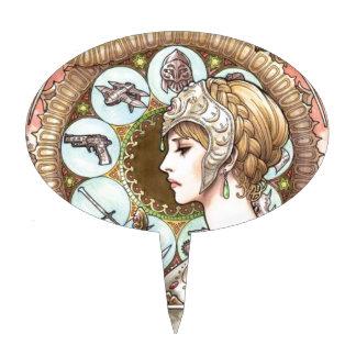 Warrior Princess Cake Topper