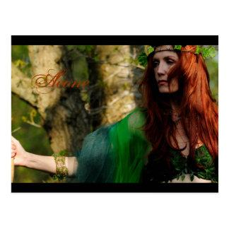 Warrior Princess Postcard