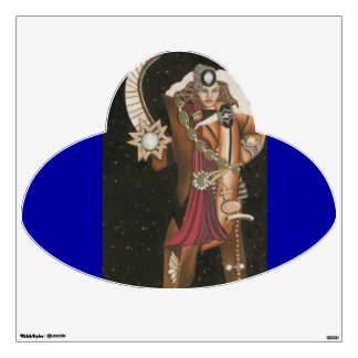 Warrior Princess Strange UFO CricketDiane Wall Decal
