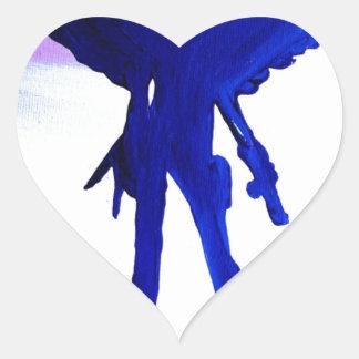 Warrior Queen Heart Stickers
