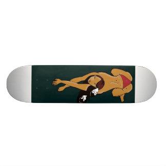 warrior skateboard deck