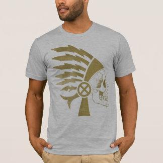 Warrior Skull gold T-Shirt