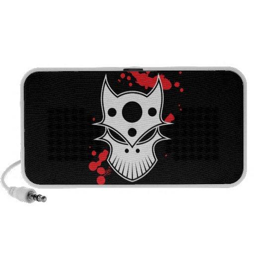 Warrior Skull iPod Speaker