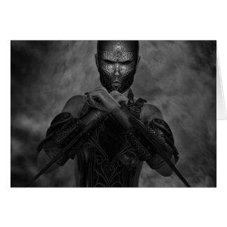 Warrior Spirit BW Card