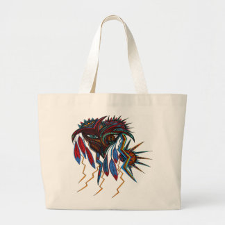 Warrior Spirit Large Tote Bag