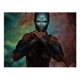Warrior Spirit Postcard