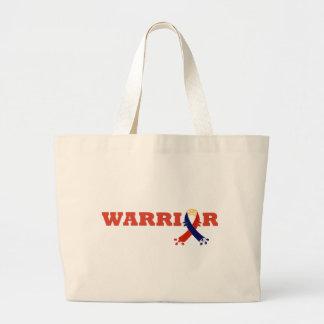 Warrior Spirit TOS Awareness Large Tote Bag