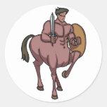 Warrior Stickers