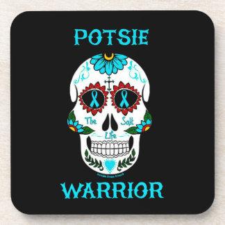 Warrior/Sugar skull...P.O.T.S. Coaster