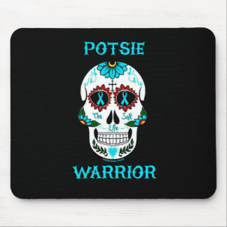 Warrior/Sugar skull...P.O.T.S. Mouse Pad