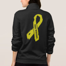 Warrior/ torn ribbon...Endometriosis Jacket