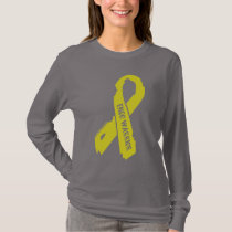 Warrior/ torn ribbon...Endometriosis T-Shirt