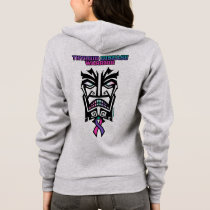 Warrior/Tribal...Thyroid Disease Hoodie