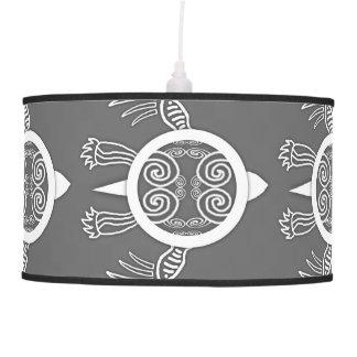 Warrior Turtle Ceiling Lamp