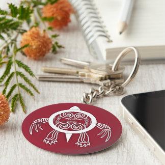 Warrior Turtle Keychain