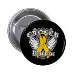 Warrior Vintage Wings - Appendix Cancer Pins