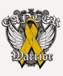 Warrior Vintage Wings - Appendix Cancer T Shirt