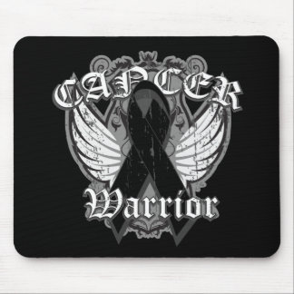 Warrior Vintage Wings - Melanoma Mouse Pad