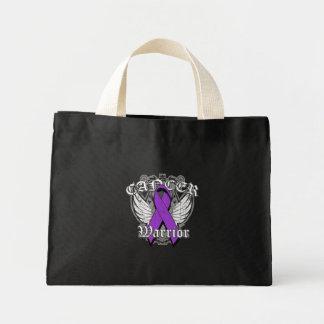 Warrior Vintage Wings - Pancreatic Cancer Tote Bags