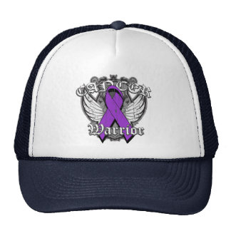 Warrior Vintage Wings - Pancreatic Cancer Trucker Hat