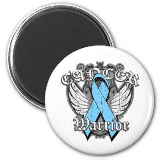 Warrior Vintage Wings - Prostate Cancer Fridge Magnet