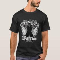 Warrior Vintage Wings - Skin Cancer T-Shirt