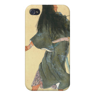 Warrior with Bracelets 1800 iPhone 4 Cover